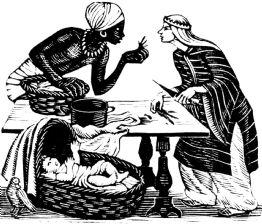Baboof & the Queen (giclée only)